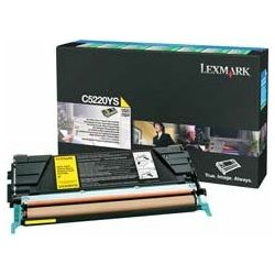 Toner LEXMARK C522  Yellow