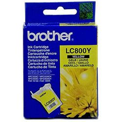 Tinta BROTHER LC-800 Yellow